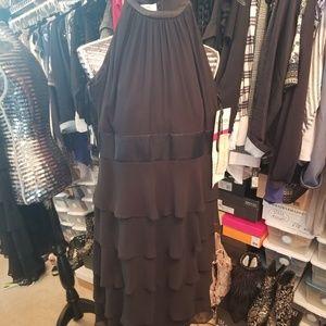 Evan Picone Ruffle Dress